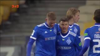 Динамо - Ворскла - 2:0. Відео голу Бурди