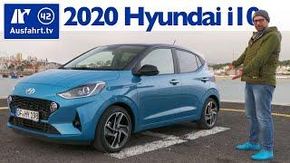 2020 Hyundai i10 1.2 MPI 84PS 5MT Style - Kaufberatung, Test deutsch, Review, Fahrbericht Ausfahrttv