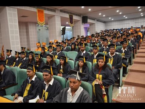 ITM University Convocation-2016 (Part-2)