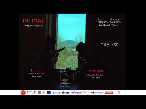 INTIMAL Long Distance Improvisation: Oslo, Barcelona, London