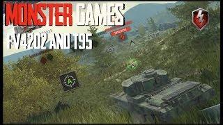 Huge Damage Games FV4202 T95 World of Tanks Blitz