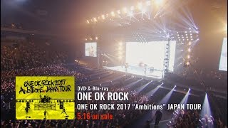 8th Live DVD & Blu-ray [ONE OK ROCK 2017 Ambitions JAPAN TOUR] May ...