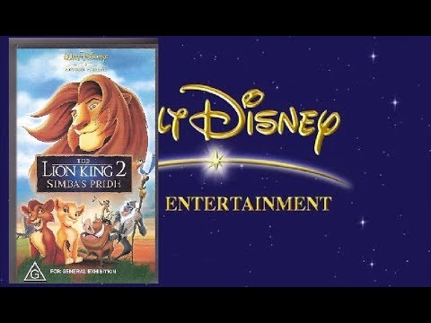 Opening And Closing To The Lion King 2 Simba S Pride 1994 Vhs Australia Youtube