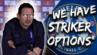 """Chelsea News: Lampard Says Chelsea """"Have Options"""" To Sign THIS January & Loftus-Cheek Return!"""
