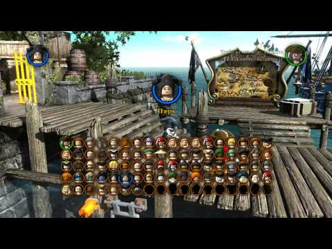 ⛵️ #2 ТОРТУГА Лего пираты Карибского моря прохождение Проклятие Чёрной Жемчужины Жестянка