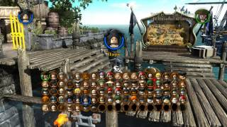 обзор всех персонажей из игры LEGO пираты Карибского моря  + что будет если собрать 84 зол  кирпичик(скоро будет обзор по лего марвел извините за микрофон я его видимо плохо настроил моя ошибка., 2015-06-20T10:37:48.000Z)