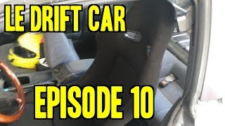 Project 240SX Le Drift Car - Ep. 10 | Racing Seat, E-Brake, Painting Wheels