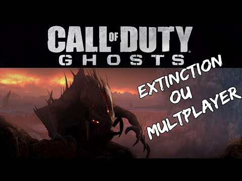 CALL OF DUTY GHOSTS EXTINCTION OU MULTPLAYER