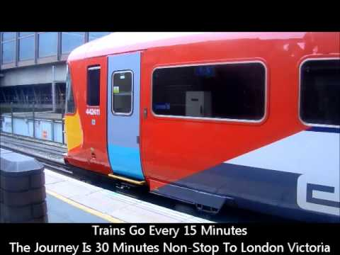 Gatwick Express Train - A Video Diary From North Terminal To London Victoria