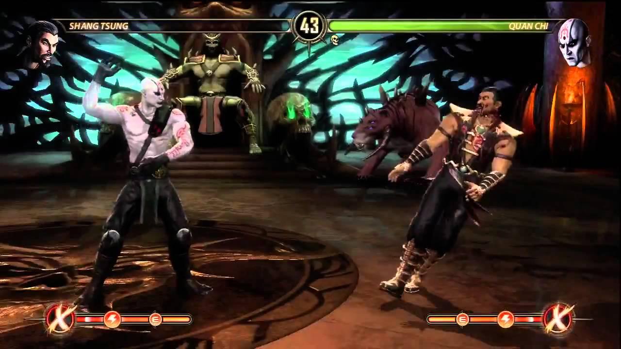 Quan Chi's X-ray Attack (Mortal Kombat 9)