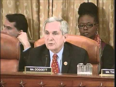 Rep. Doggett questions CMS Administrator on ACA in Texas