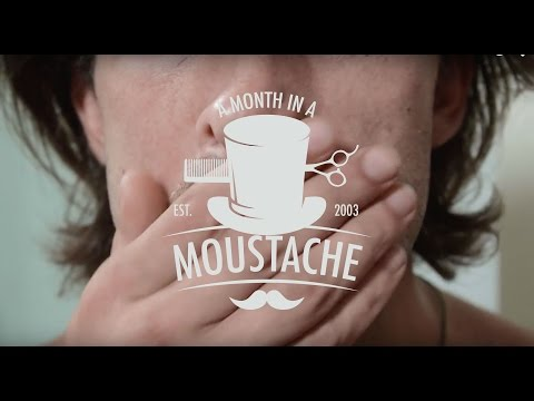 The Tribulations Of Growing An Epic Moustache