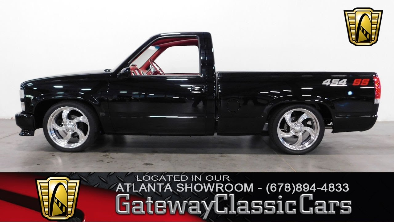 All Chevy 1991 chevy 454 ss for sale : 1990 Chevrolet Silverado C1500 454 SS - Gateway Classic Cars of ...