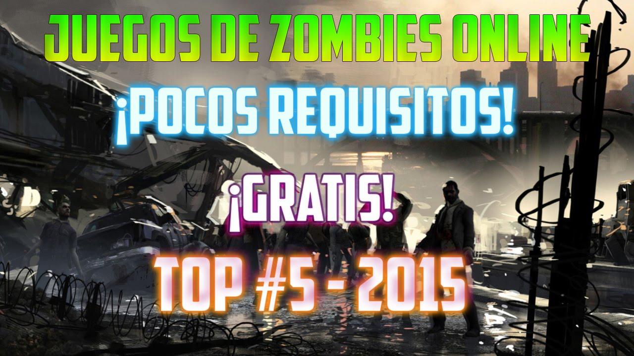 Top 5 Juegos De Zombies Online De Pocos Requisitos Hd