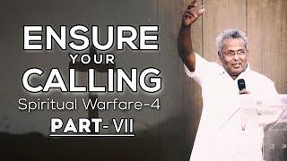 "Rev. Dr. M A Varughese    'Ensure your calling-Spiritual Warfare-4"" Part-VII    8.4.2018"