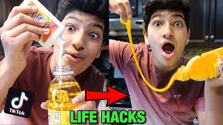 We TESTED Viral TikTok Life Hacks.. *CAN'T BELIEVE IT WORKED*