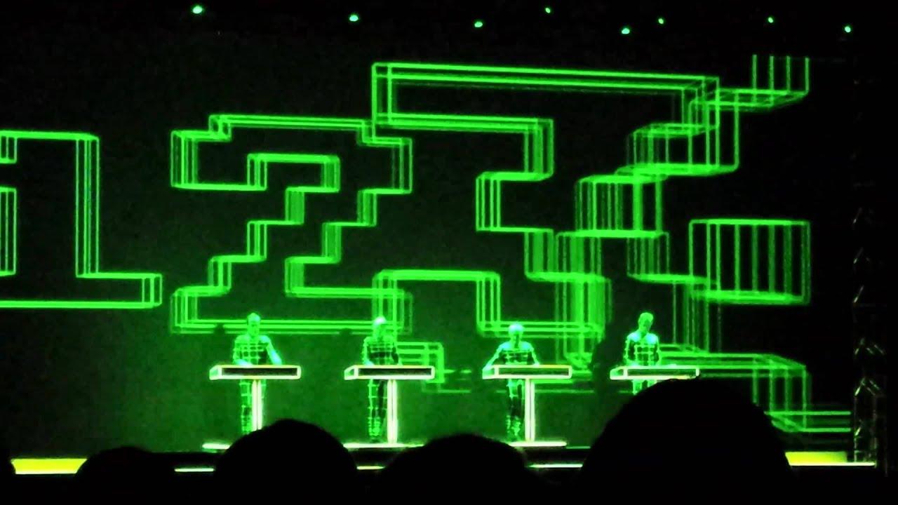 Kraftwerk 3d Live Eindhoven: Numbers - YouTubeKraftwerk 3d