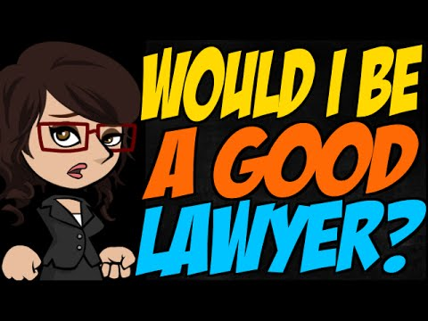 would i be a good lawyer youtube