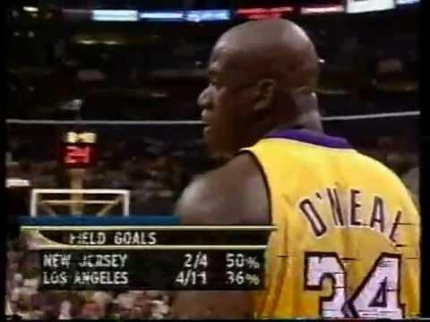 NBA FINALS 2002. Lakers vs Nets. Game 1. Andrés Montes y Daimiel. Part 1