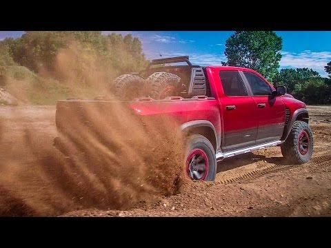 ► Ram Rebel TRX Concept 575 HP - 100mph Offroad Pickup