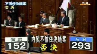 言行を一貫させ、菅内閣に不信任票を投じた、松木謙公議員