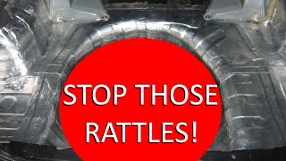 How to STOP RATTLING from subs (Cheap + Install Kit)