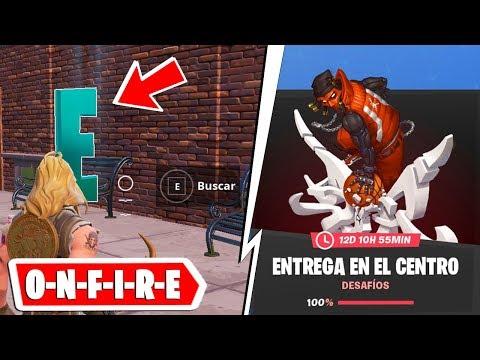 BUSCA LAS LETRAS O-N-F-I-R-E - DESAFÍOS ENTREGA EN EL CENTRO