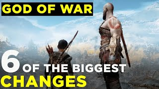 6 Huge Changes in the new God of War