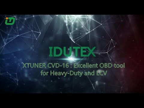 XTUNER CVD 16: Excellent OBD Tool For Heavy Duty And LCV
