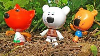 Ми-Ми-Мишки Играют в Догонялки и Плавают / Играем с Игрушками / Детское Видео для Малышей