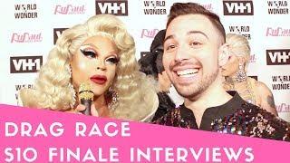 """It's Vanjie Time - """"Rupaul's Drag Race"""" Season 10 Queens Finale Red Carpet Interviews"""