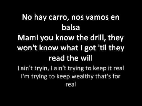 Pitbull Feat.Marc Anthony - Rain Over Me (lyrics)