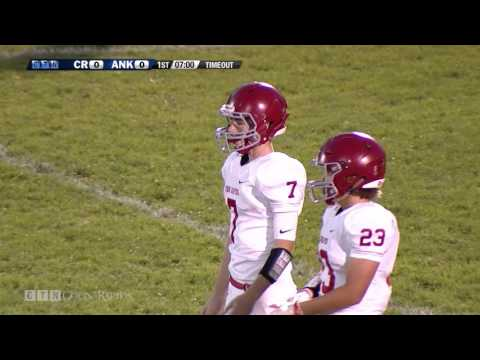 Prep Football: Coon Rapids at Anoka 9/30/16 (Full Game)