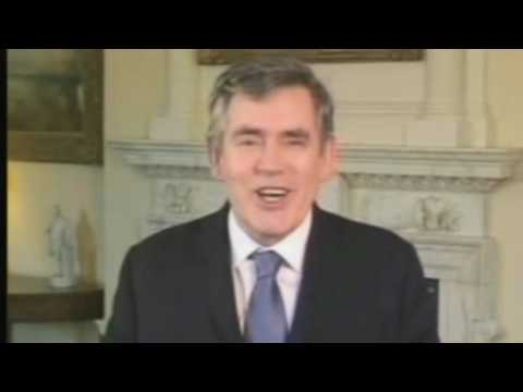 Gordon Brown's best funny bits - Have I Got News For You (13/05/2010)