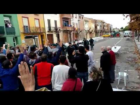 #1O / Arribada de la Guàrdia Civil a Artesa de Lleida