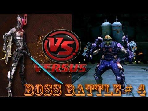 Borderlands 2 Zero vs Pyro Pete the invisible solo boss Battle