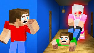 GRANNY Trapped Us In Her HAUNTED HOUSE! (Minecraft)