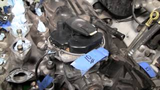 2002 Nissan Xterra VG33E Rebuild Step by Step Part 34 - Distributor Removal Woes