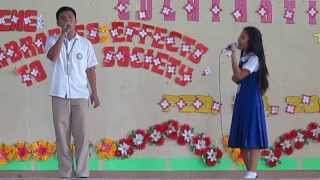 duet in Holy Cross Academy of Digos (HCAD)