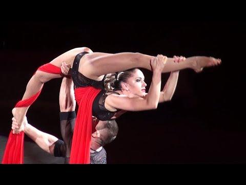 Circus. Gymnasts.  Amazing !!!