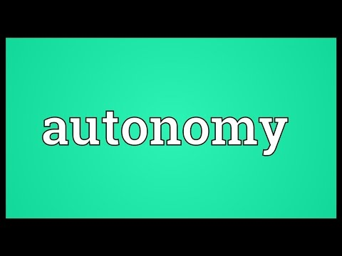 definition of learner autonomy Autonomy | definition of autonomy by medical dictionary  my son attends a independant living center to learn how to be self sufficiate and so far he is learning .