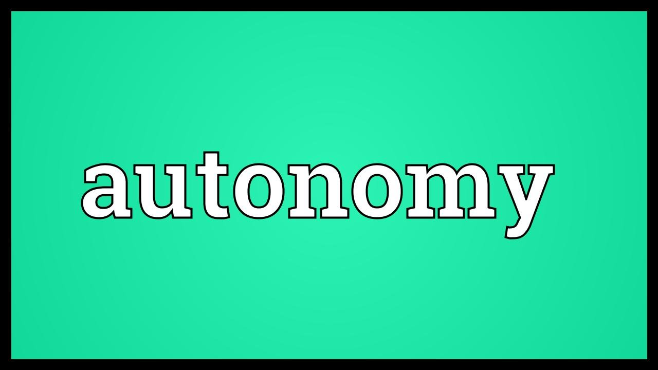 want and autonomy But if you want your employees to live up to their full how to give employees a sense of autonomy (when you are really calling the shots.