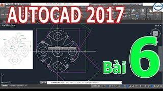 Tự học Autocad 2017 bài 6 (Các lệnh đo kích thước, hiệu chỉnh Dimension, Text, Align, Break...)