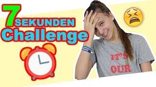 7 Sekunden Challenge, bin ich schneller als die Zeit?   - Celina