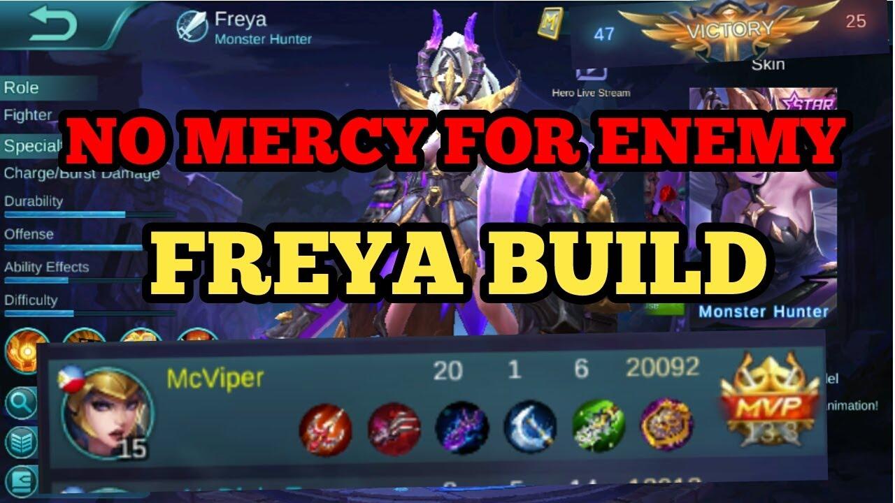 Freya Build