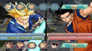 ¡BATALLA SAIYAJIN!: TRUNKS VS GOHAN - Dragon Ball Z Budokai Tenkaichi 4 BETA 6 [LIVE]