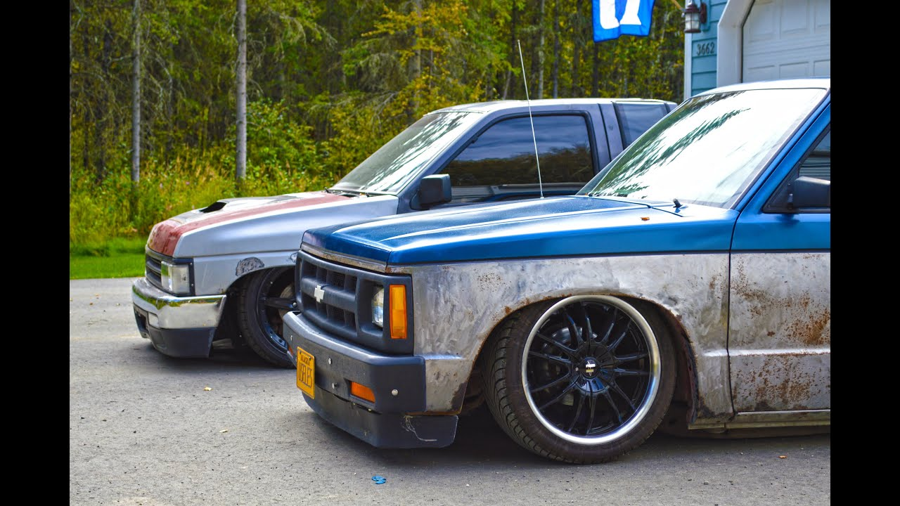 Curtis's Bagged S10 - YouTube