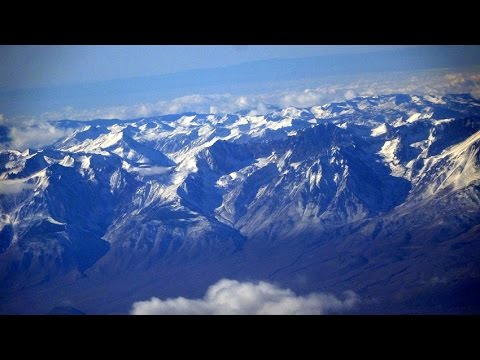 Phoenix (PHX) to San Francisco flight: Bullhead City, Death Valley, Sierra Nevada 2014-12-25
