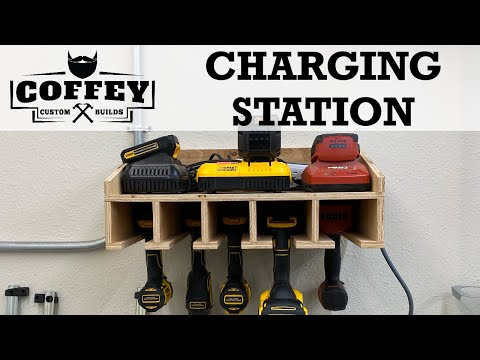cordless-tool-charging-station-//-how-to-//-woodworking-//-diy
