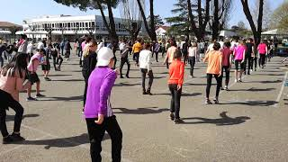 Flash mob Villeneuve